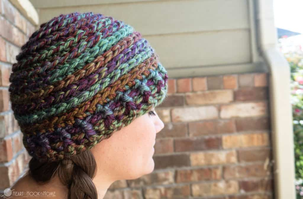 The Libby: Quick, Cute, Chunky Adult Beanie Pattern
