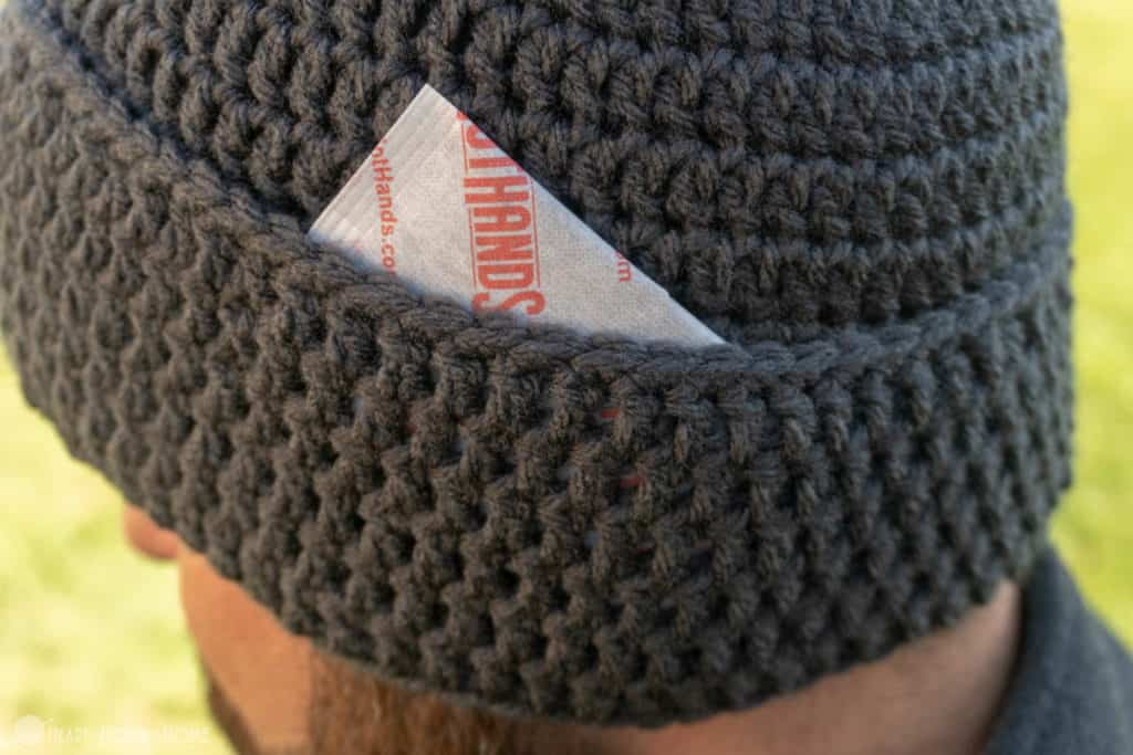Hand Warmer Beanie Crochet Beanie With Hand Warmers