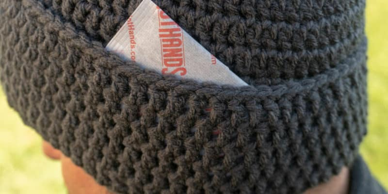 Hand Warmer Beanie: Free Crochet Pattern