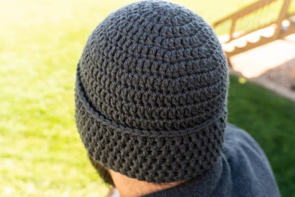 Hand Warmer Beanie Crochet Pattern