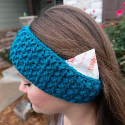 Hand Warmer Ear Warmer Crochet Pattern