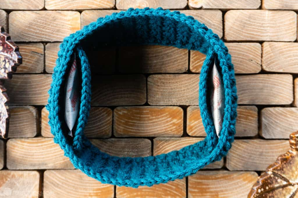 Hand Warmer Ear Warmer free crochet pattern