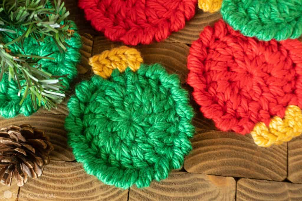 How to make Christmas Ornament Coasters