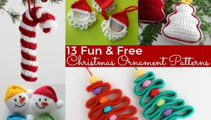 Fun & Free Christmas Ornament Patterns