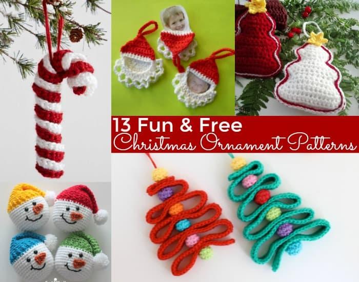 Fun & Free Christmas Ornament Patterns