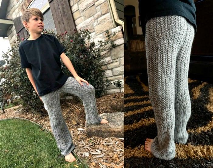Not Your Grannys Jammies Pajama Pants Crochet Pattern