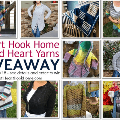 Heart Hook Home and Red Heart Yarns Giveaway