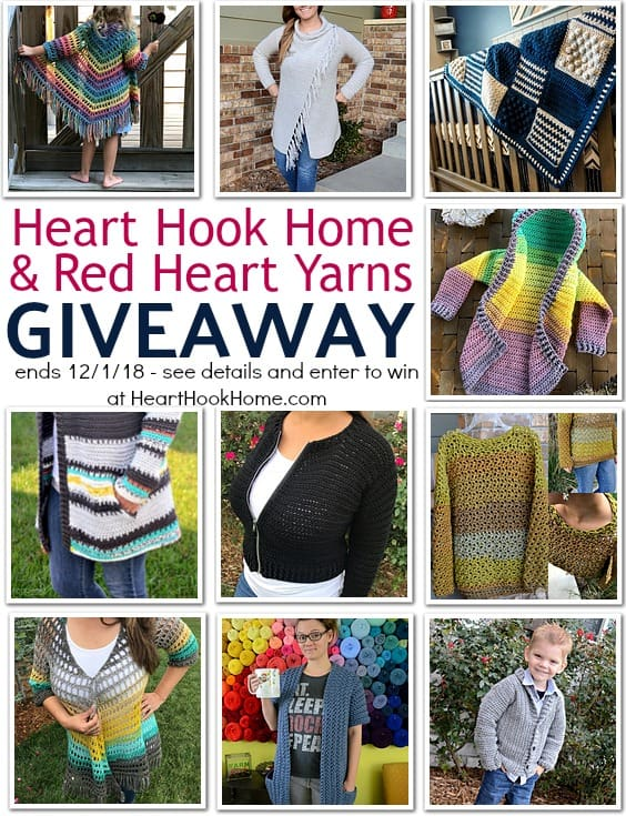 Heart Hook Home Red Heart Yarns Giveaway