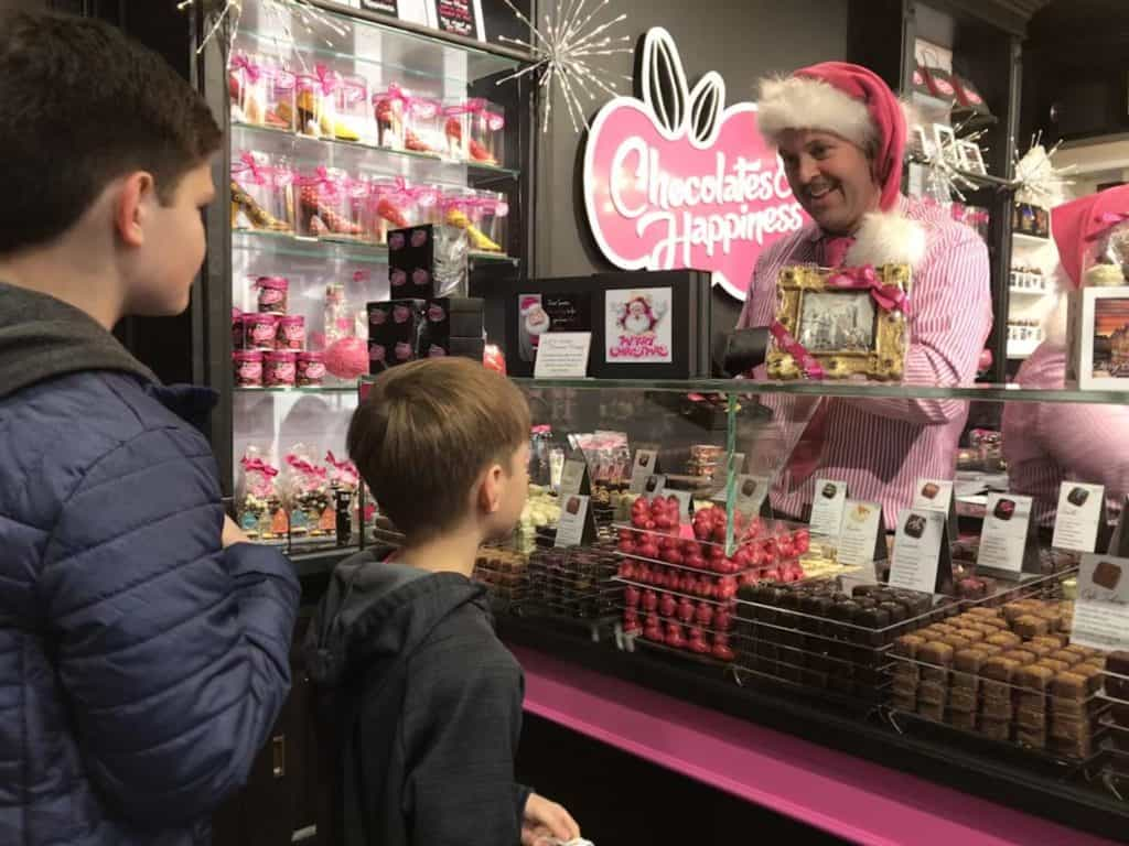 Chocolates and Happiness in Brugge, Belgium