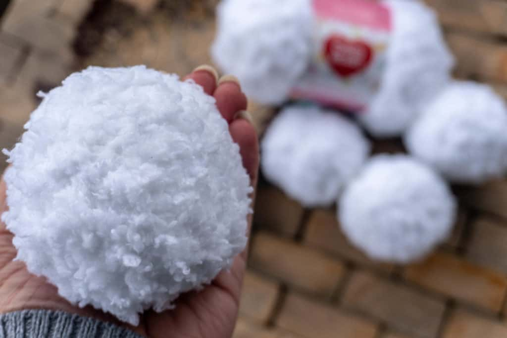 Crocheted Snowballs