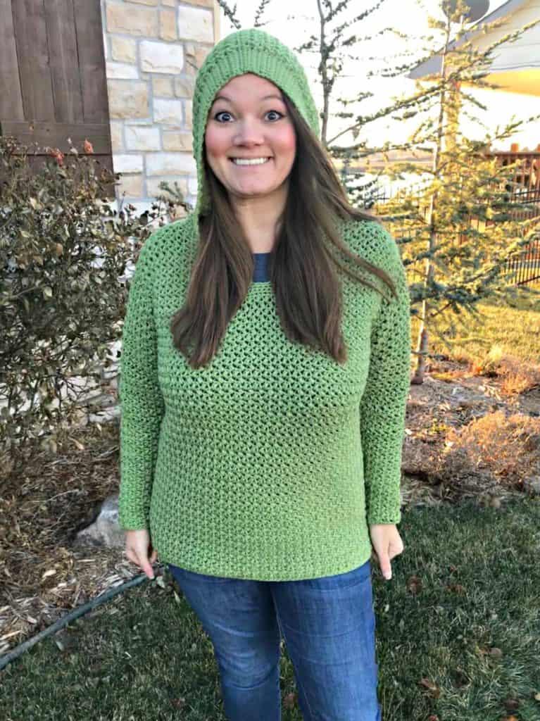 Basic hoodie crochet pattern