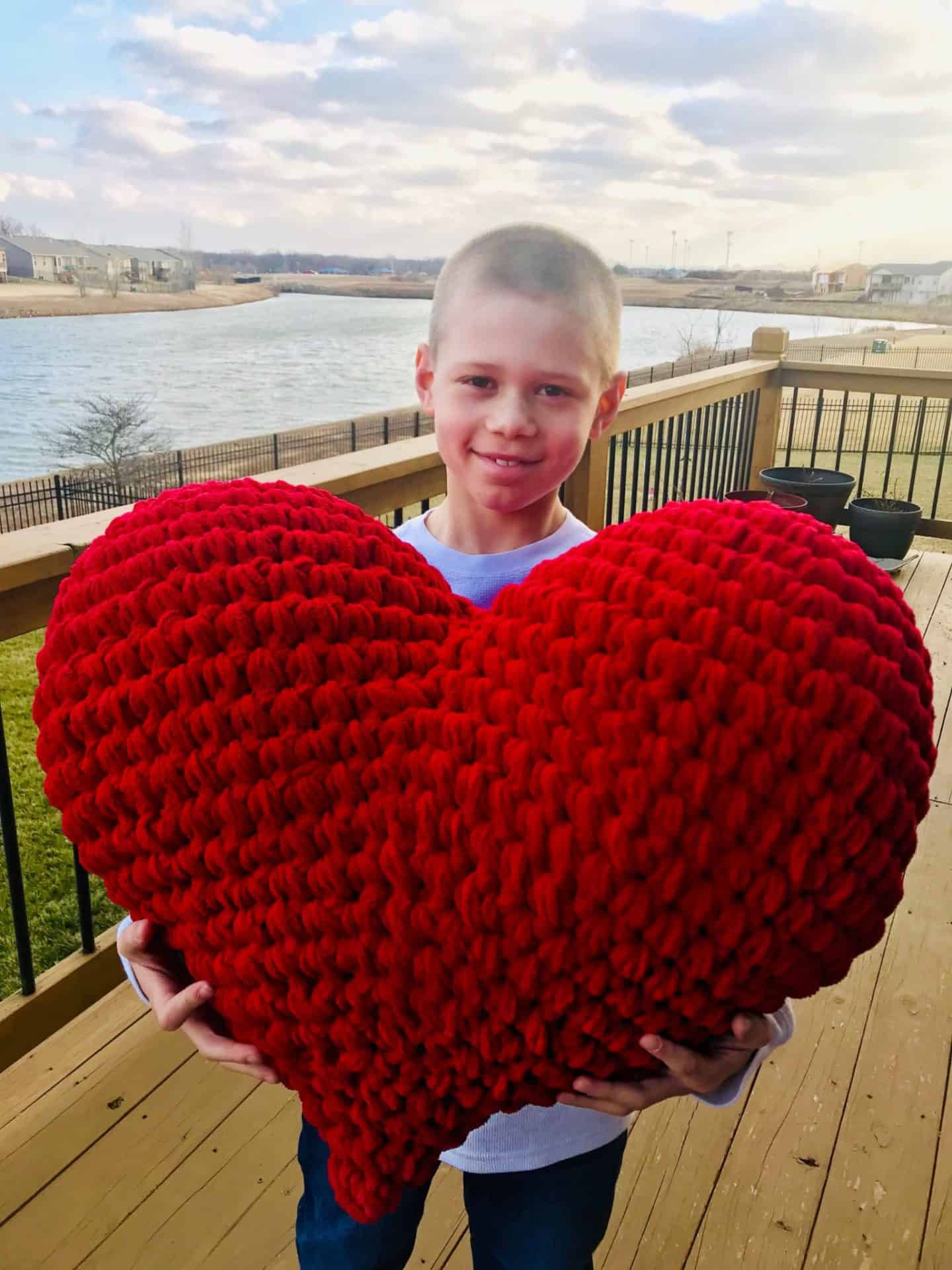 HUGE Heart crochet pattern