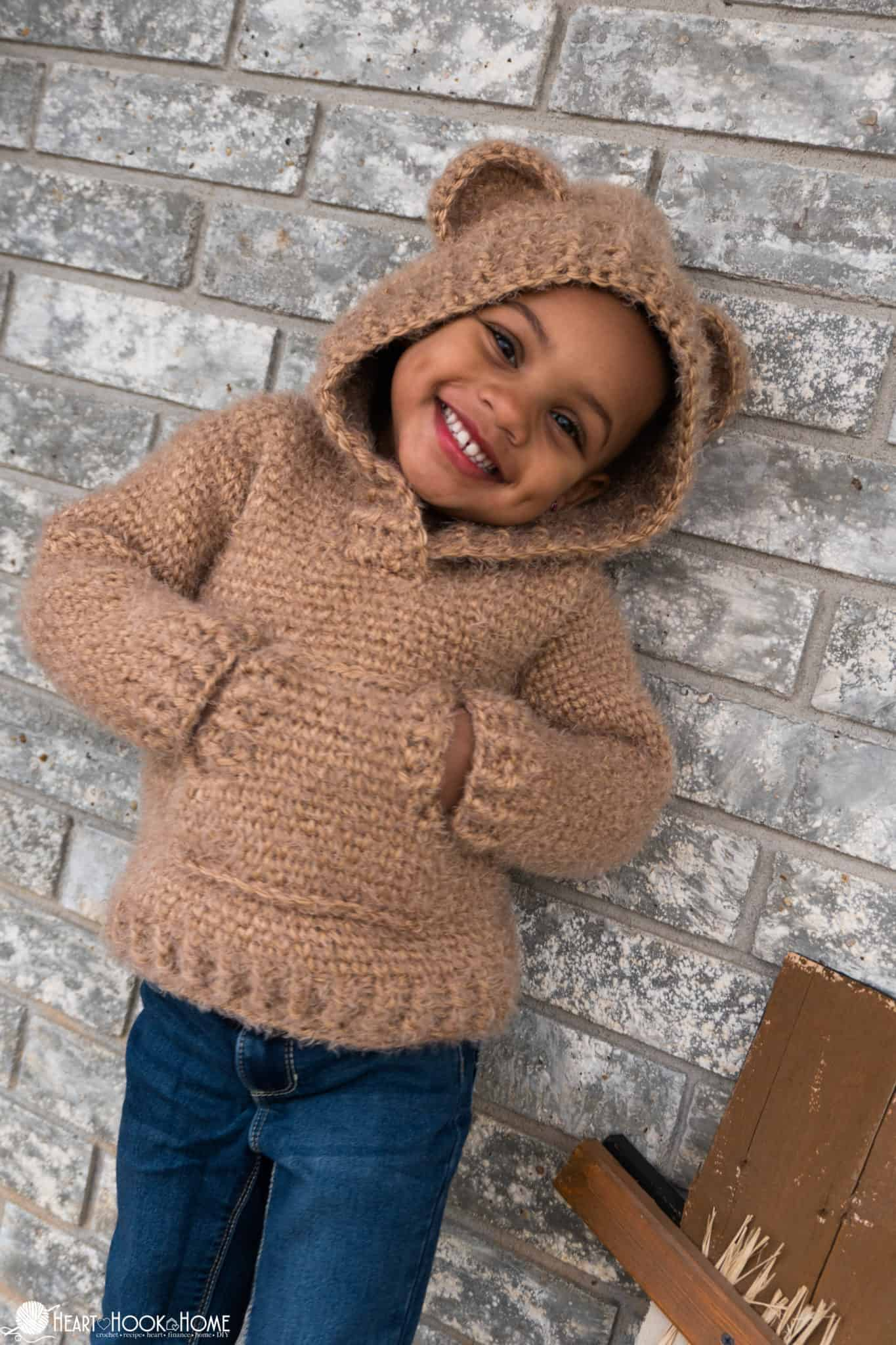 Child size hoodie pattern