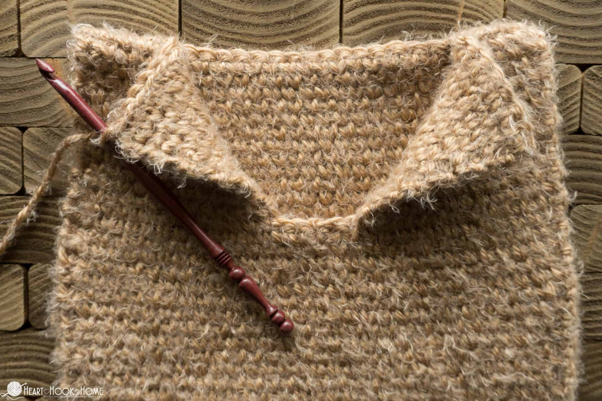 How to crochet the hibernation hoodie