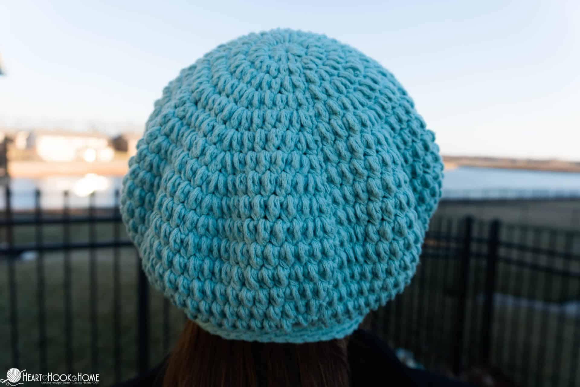 how to crochet a checmo cap