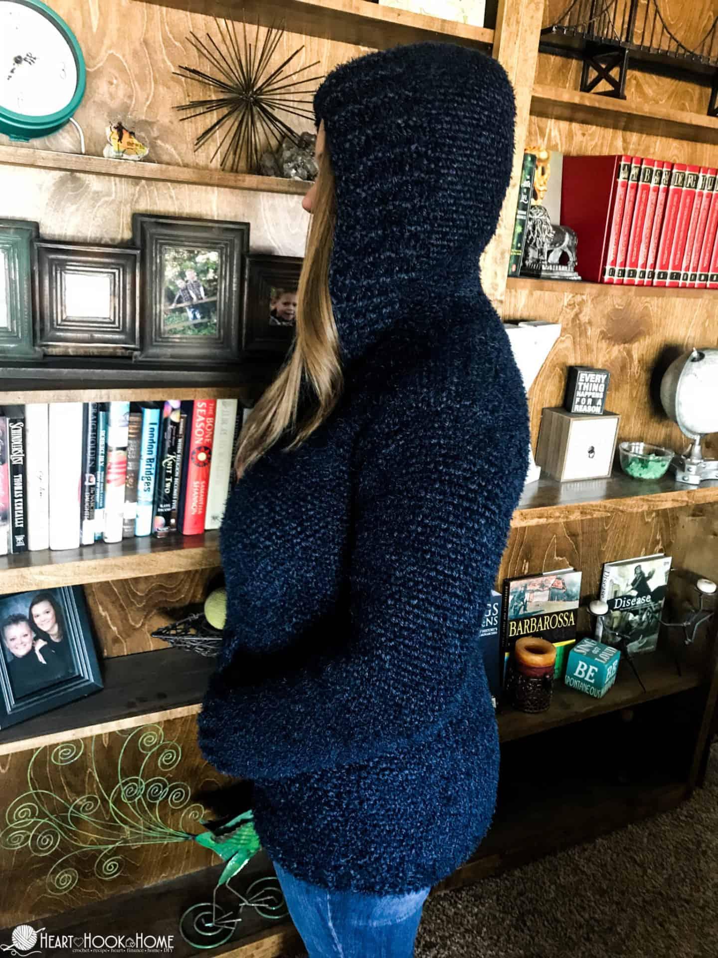 Crochet Hoodie pattern: Hibernation Hoodie