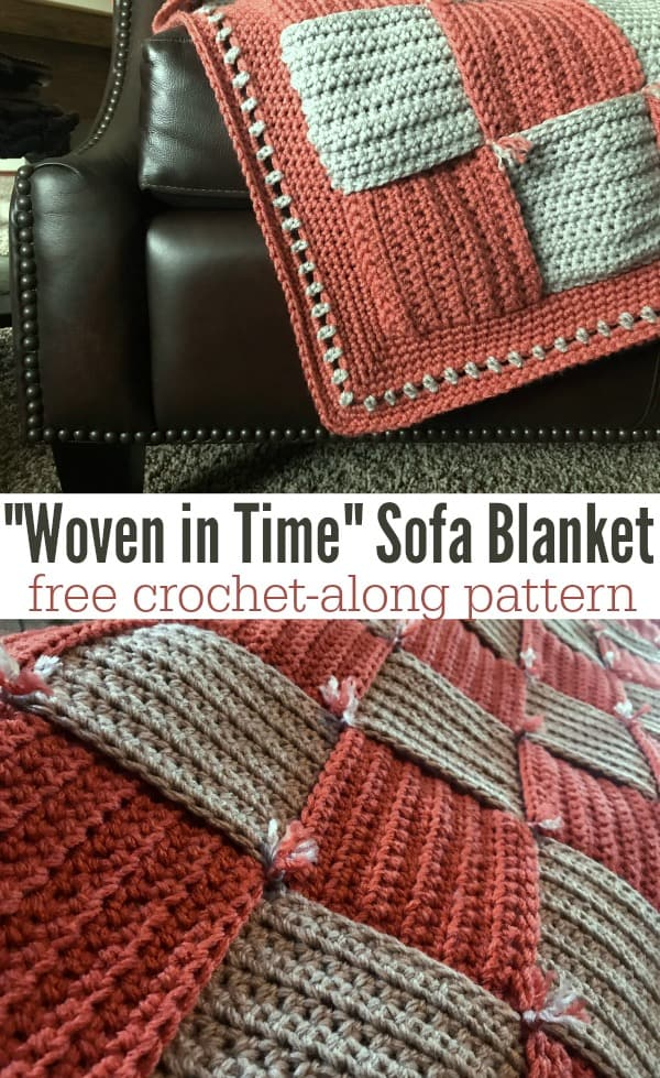 Woven In Time Sofa Blanket CAL