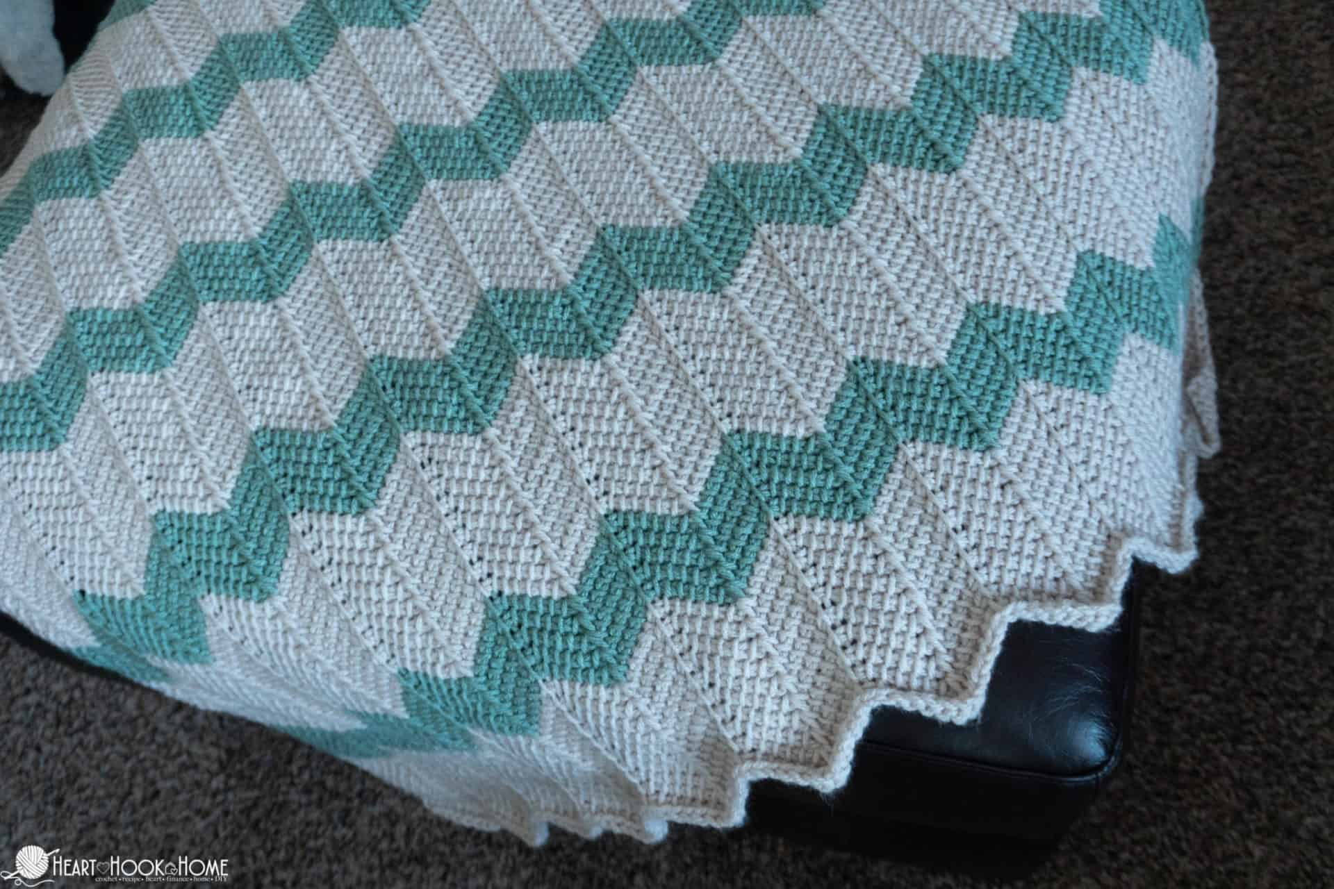 Free Pattern for crochet baby blanket
