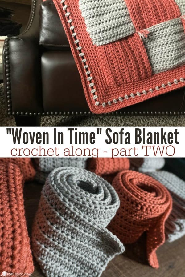 Woven In Time Crochet Along Part TWO