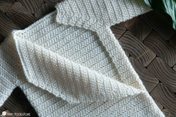Drawstring Sleep Sack Free Crochet Pattern For Newborns