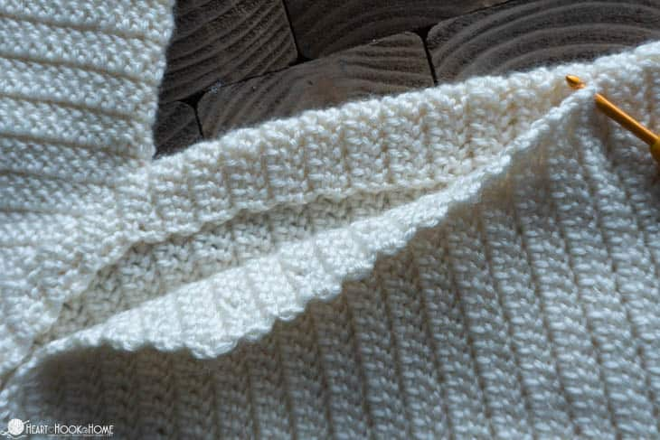 Free Crochet Pattern for Drawstring Sleep Sack