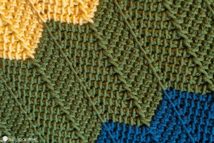 Free Rainbow Baby Blanket Crochet Pattern