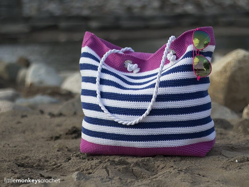 classic beach bag crochet pattern
