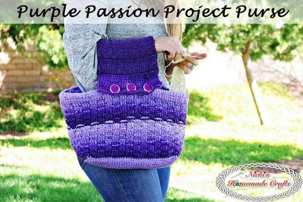 crochet project purse