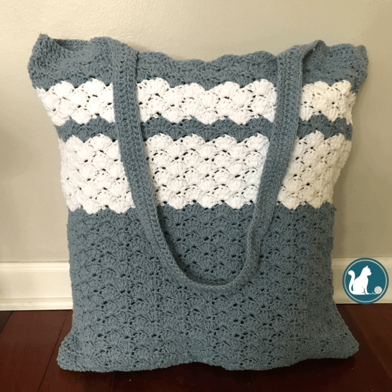 shell stitch bag pattern