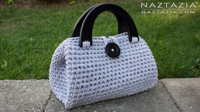 t-shirt yarn hand bag