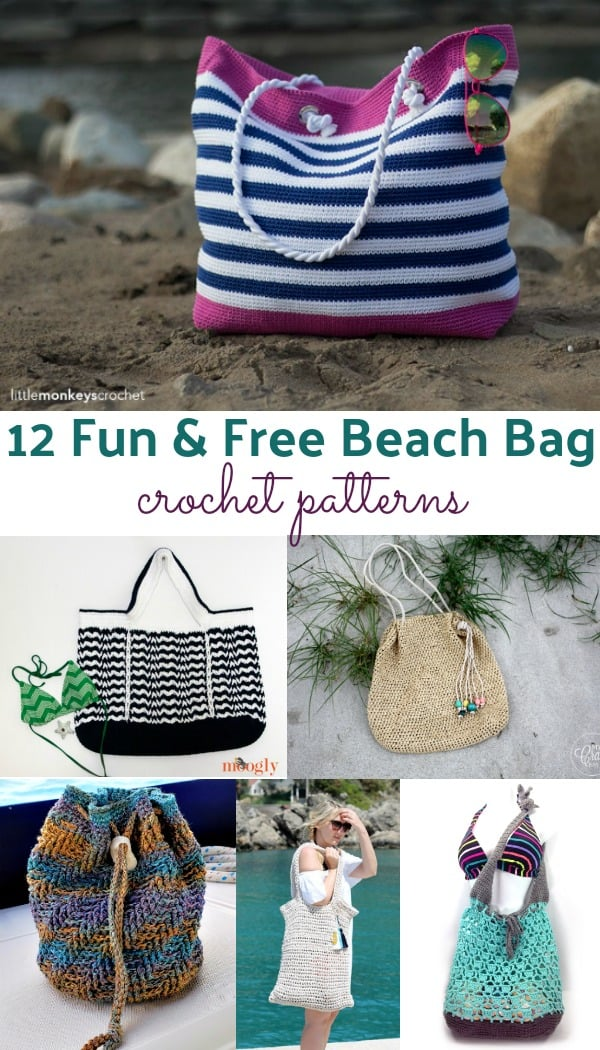free beach bag crochet patterns