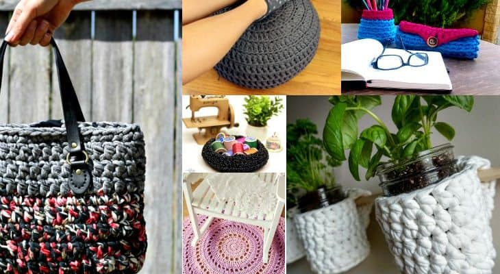 things to make with t-shirt yarn