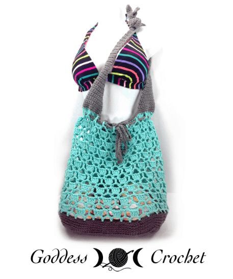 open work beach bag pattern