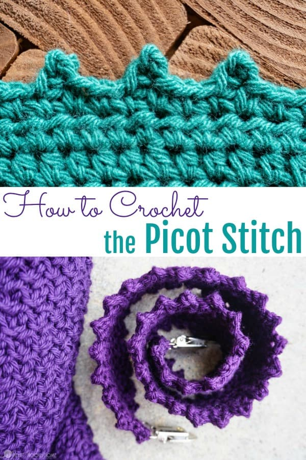 How to Crochet the Picot Stitch