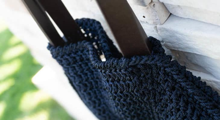 Circle Bag Free Crochet Pattern