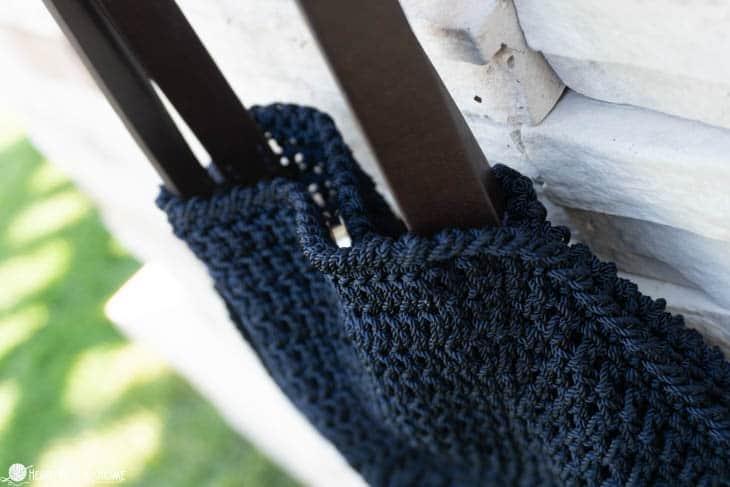 Circle Bag Free Crochet Pattern