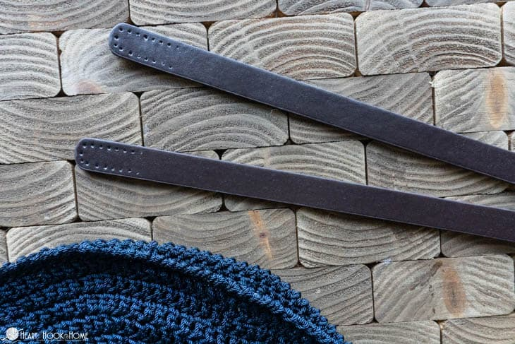 leather straps for sewing and bag making