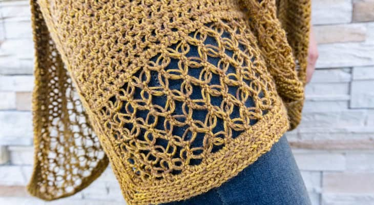 Ruana crochet along