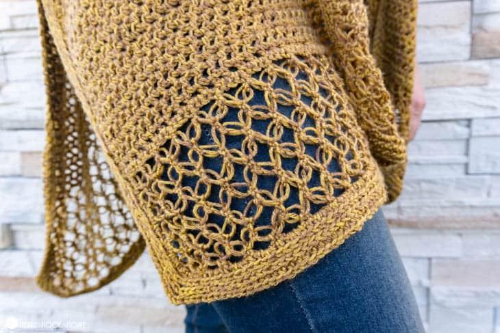 Ruana crochet along