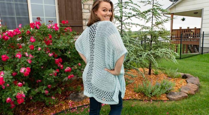 Ruana Free Crochet Pattern