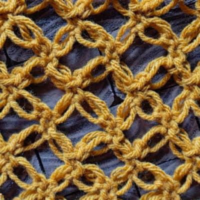 Solomon's Knot Crochet Stitch Tutorial