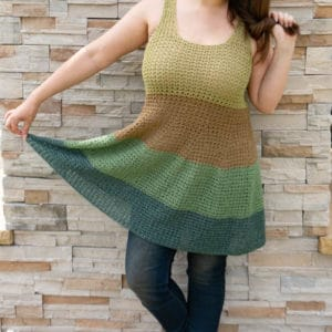 Voluminous Tank Crochet Pattern
