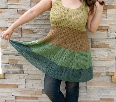 Voluminous Tank Crochet Pattern