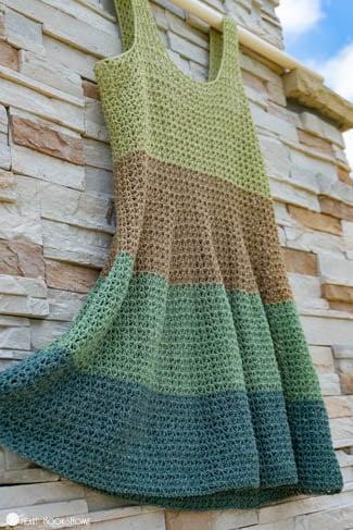 Flowy tank top crochet pattern