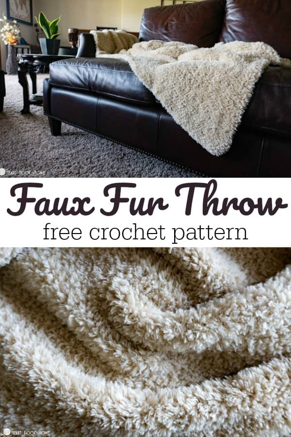 Faux Fur Throw Crochet Pattern