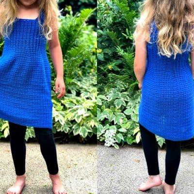 Beautiful child size dress pattern