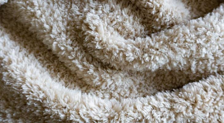 Red Heart Hygge Fur Crochet Blanket