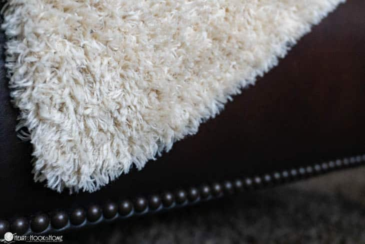 Faux Fur Throw: Free Crochet Pattern