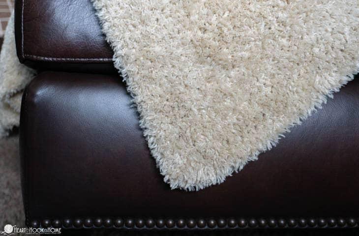 Hygge Fur throw crochet pattern