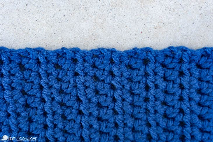 consistent crochet stitches